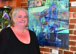 Terry Lynn Spry takes first place at ACT exhibit