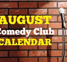 Comedy Clubs August 2019