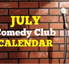 Comedy Clubs July 2019