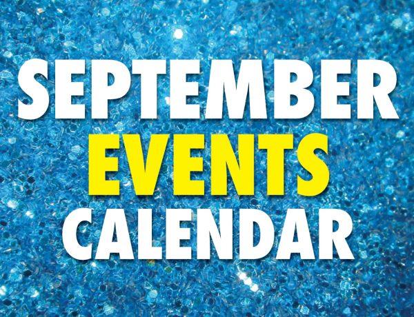 September 2021 Event Calendar