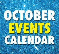October 2019 Event Calendar
