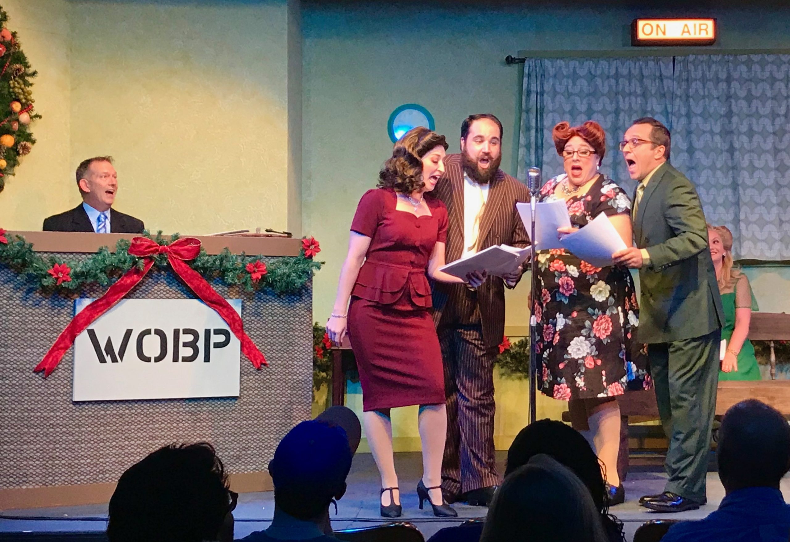 Off Broadway Palm To Present A Christmas Carol A Live Radio Play Happenings Magazine Southwest Florida