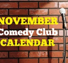 Comedy Clubs November 2019