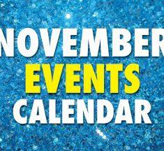 November 2019 Event Calendar