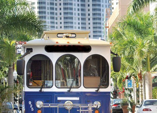 Free seasonal LeeTran downtown trolley resumes Nov. 20