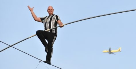 Nik Wallenda's Daredevil Rally opens for six shows