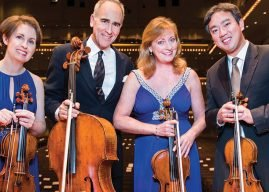 The New York Philharmonic String Quartet at Davis Art Center Nov. 20
