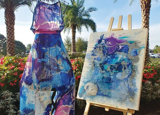 Canvas to fashion with Yvonne Krystman at DAAS Co-Op Gallery in March
