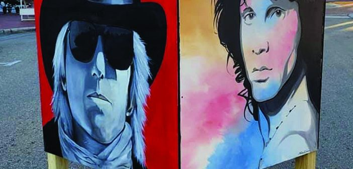 Music legends on display in River District