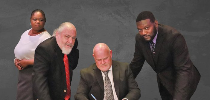 Race by David Mamet on stage at Laboratory Theater of Florida