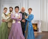 An Ideal Husband on Naples Players stage