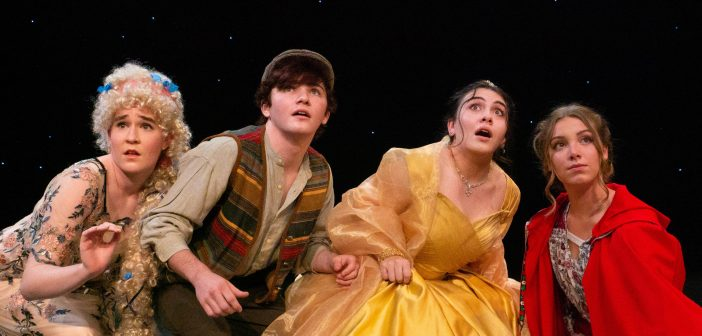 Into the Woods on Florida Rep outdoor stage