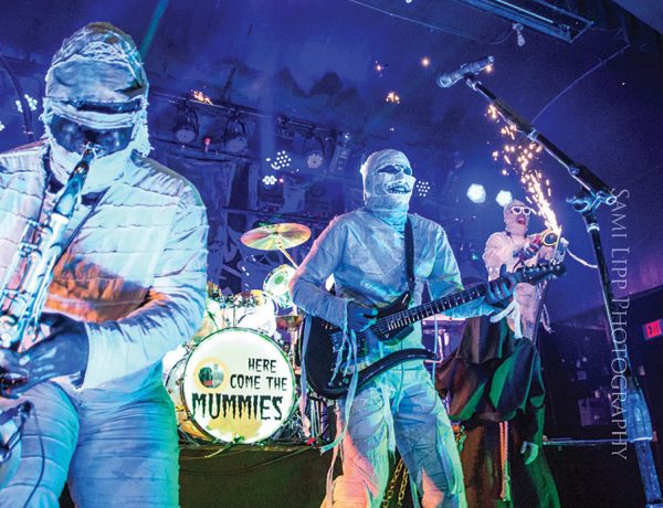 Here Come the Mummies at Seminole Casino Hotel Oct. 22