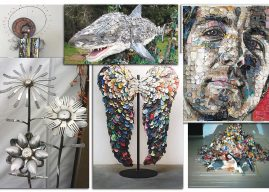 Recaptured and Save The Reef exhibits at Davis Art Center in June